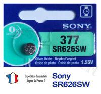 1 Pile Montre SONY 377 Argent AG4 SR66 LR626 376 SR626SW SR626 V377 SR628 D377