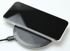 Schnell Ladestation 15W Qi Kabellos Wireless Charger Ladegerät Handy iPhone