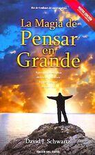 La Magia De Pensar En Grande David Schwartz AutoAyuda Motivación (Spanish) NEW