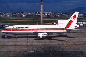 Orig.Aircraft Slide TAP Air Portugal L-1011 CS-TEG
