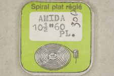 Hairspring balance AMIDA 60 PL Spirale bilanciere