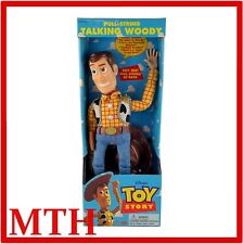 VINTAGE TOY STORY WOODY 15'' ORIGINAL PULL STRING 1995 THINKWAY BOXED - VGC