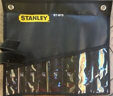 STANLEY NYLON ROLL-UP POUCH FOR 8 PC WRENCH SET / TOOL STORAGE