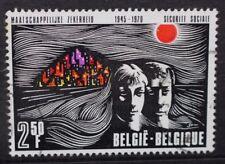 BELGIUM 1970 25th Anniversary Belgian Social Security. Set of 1 Fine USED SG2171
