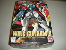 Mobile Suit Gundam Wing: Wing Gundam 0 (1/144 scale) model kit (Rare 2000 ver.)