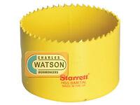 Starrett 68mm Holesaw High Speed Steel Bi-Metal Hole Saw HSS Wood Metal Plastic