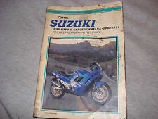Clymer Suzuki 1988-94 GSX-R750F KATANA Service Repair Maintenance Manual M478