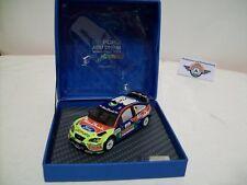 """Ford Focus WRC #3 """" Abu Dhabi """" 2008, Ford Dealer ( Ixo 1:43 ), Boxed"""