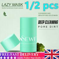 Green Tea Clean Face Mask Stick Oil Control AntiAcne Dirt Moisturizing Hydrating