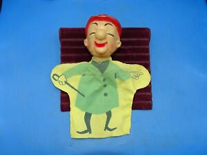Vintage 1960's  Mr. Magoo Hand Puppet UPA Pictures Inc.