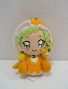 """Ojamajo Doremi Momoka Asuka Banpresto 2002 Mascot Keyring Plush 4"""" Doll Japan"""