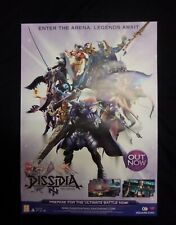 DISSIDIA NT FINAL FANTASY - OFFICIAL RARE A2 PROMO POSTER (NOT A GAME)