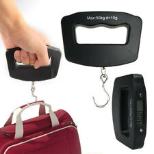 Portable Digital LCD Electronic Handheld Luggage Scale Hook Weight 50kg/10g