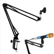 Adjustable Desktop Microphone MIC Suspension Boom Scissor Arm Stand Holder HY