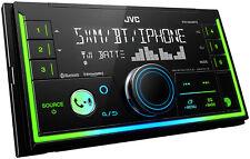 JVC KW-X840BTS 2 DIN Digital Media Receiver Bluetooth USB SiriusXM Amazon Alexa