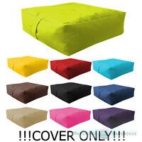 Waterproof Bean Bag COVER ONLY Unfilled Beanbag Garden Cushion Seat Chair Kids