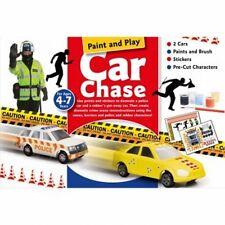 Interacción Artesanales Caja Pintura & Play de persecución de automóviles Cb203 reducido a Transparente Uk libre de envío