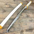 "31"" Fantasy Japanese Samurai Sword Bamboo blade  Cosplay Demonic Halloween Xmas"