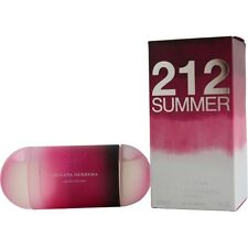 212 Summer by Carolina Herrera EDT Spray 2 oz Limited Edition 2013