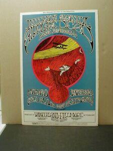 ORIGINAL 1969 BILL GRAHAM BG 171 FILLMORE & WINTERLAND POSTER - GRATEFUL DEAD