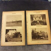 Vintage Book Prints -  Cheshire, UK - 1931