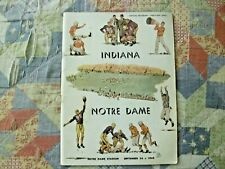1949 NOTRE DAME INDIANA PROGRAM College Football FIGHTING IRISH NATIONAL CHAMPS!