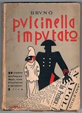 NAPOLI - GIURIDICA - SATIRICA - PULCINELLA - CARICATURE - DE NICOLA - 1933