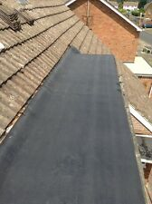 SELF ADHESIVE  QUALITY FLAT ROOF AND SHED FELT  1 MTR  WIDE x 8 MTRS. LONG BLACK
