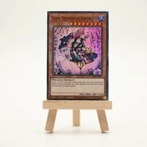 Yu-Gi-Oh! I Talaya, Prinzessin der Kirschbüten I SESL-DE052 I near mint NM I