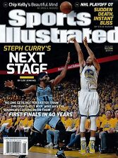New Sports Illustrated Steph Curry GS Warriors Next Stage 5/25/15 2015 No Label