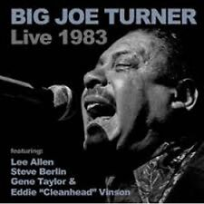 Big Joe Turner - Live at the Music Machine 1983 (2014)  CD NEW/SEALED SPEEDYPOST