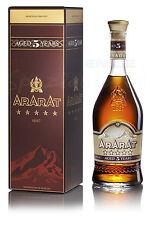 Armenian Brandy Ararat 5* коньяк Арарат