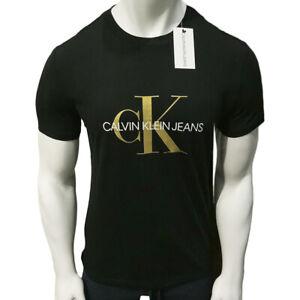 NWT CALVIN KLEIN AUTHENTIC MEN'S BLACK CREW NECK SHORT SLEEVE T-SHIRT