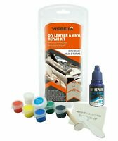 VISBELLA Leather and Vinyl Repair DIY Kit, repairs holes, cuts, burns, tears