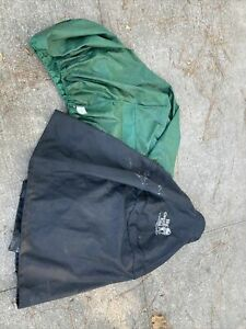 Genuine Big Green Egg Ventilated 100% Weatherproof Dome & Table Cover Large & XL