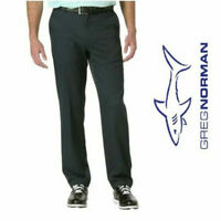 NWT Men's Greg Norman Ultimate Travel Pant Black Moisture wick stretch 5 Pocket