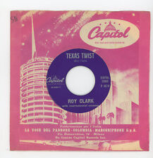 "ROY CLARK : Texas Twist / Wildwood Twist - 7"" ITALY 1962 - guitar instrumentals"