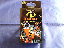 Disney Parks * The Incredibles * New & Sealed 2-Pin Mystery Box