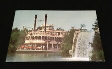 Disneyland The Magic Kingdom Mark Twain Frontierland Postcard