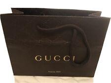 Gucci Firenze 1921 Small Brown Shopping Bag 9�x6.5�x3.75�