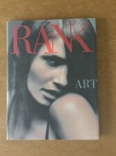 "RANK ART Magazine issue #3 ""ARTIFICIAL"". HARDBACK. By RANKIN.   *RARE*."