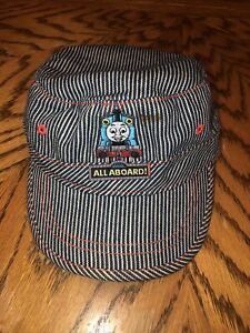 THOMAS The TRAIN Hat..CONDUCTOR ENGINEER CAP EMBROIDERED PATCH