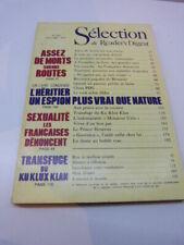 selection du reader's digest , N°422, AVRIL 1982 (cai104)
