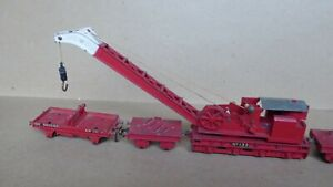 Hornby Dublo Breakdown Crane 4620. Reasonable - a bit dusty.