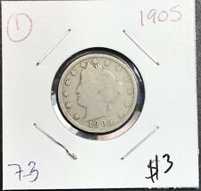 1905 LIBERTY V NICKEL. COLLECTOR COIN FOR YOUR COLLECTION OR SET. FREE SHIP 1