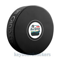 2019 NHL ALL STAR GAME SAN JOSE AUTOGRAPH MODEL HOCKEY PUCK - January 25th-26th