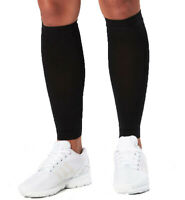 2XU Compression Unisex Calf Sleeves - Black/Black