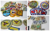 Scouting Scouts Patches & Slides 30 pc lot SW Florida