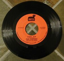 """45 RPM Soul Funk By Paul Humphrey & His Cool Aid Chemists, """"Cool Aid"""" on Lizard"""