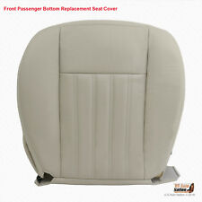 2003 Lincoln Aviator - Front Passenger Bottom Leather Replacement Seat Cover Tan (Fits: Lincoln Aviator)